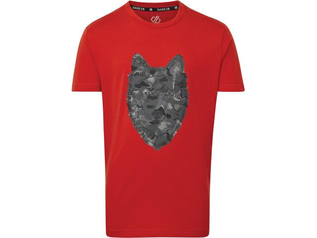 Dare 2b Go Beyond T-shirt Børn, fiery red